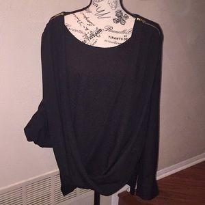 Calvin Klein blouse size XL NWOT black